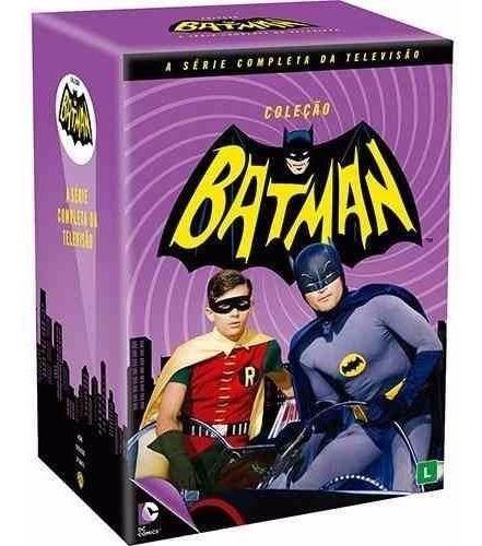 Box Dvd Coleção Batman - A Série Completa Da Tv - Original