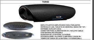 Bafle Potenciado Plast Tkr50 Sanrai