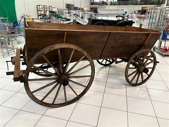 Carroça Rústica Antiga Restaurada Raridade Qualidade Com Nfe