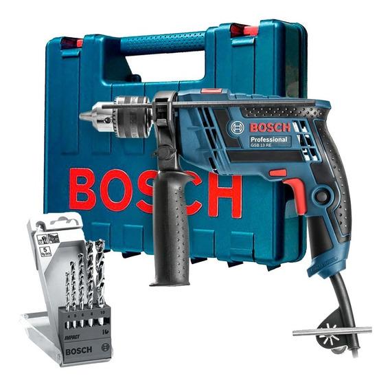 Furadeira Impacto Parafusadeira 650w Gsb13 Re Bosch
