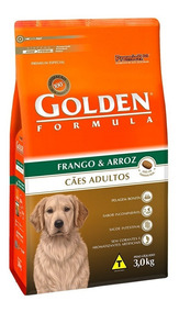 Ração Golden Para Cães Adultos Sabor Frango E Arroz 20 Kg