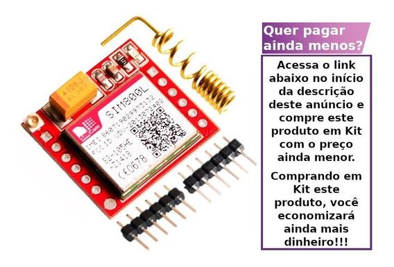 Módulo Gprs Gsm Arduíno Sim800l Quad Band Raspberry