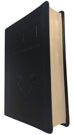 Bíblia De Estudo King James 1611 - Luxo Preta - Bv Books