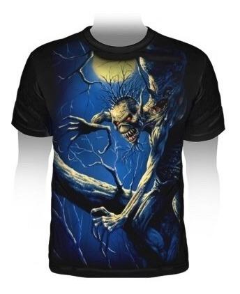 Camiseta Premium Iron Maiden Fear Of The Dark