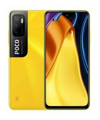 Imagem 1 de 2 de Xiaomi Pocophone Poco M3 Pro 5G Dual SIM 128 GB poco yellow 6 GB RAM