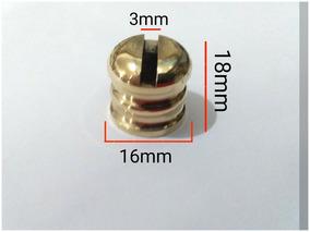 5 Peças Botão Redondo 16mm Fr Facas Cutelaria Pomo Guarda