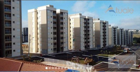 Apartamento Com 2 Dormitórios À Venda, 52 M² - Vila São Pedro - Hortolândia/sp - Ap6560