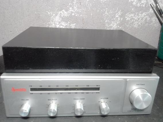 Vitrola Antiga Sonata Am Fm Modelo Seresta Compacta