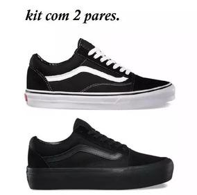 Promoção Combo C/ 2 Tênis Vans Old Skool Homem E Mulher !