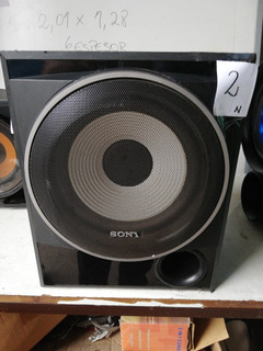 Parlante Sony Modelo Ss Wp7500 Precio X Unidad