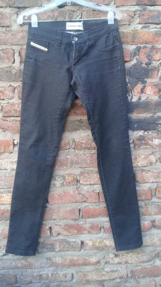 Pantalon Jeans Chupin De Mujer Kanikama