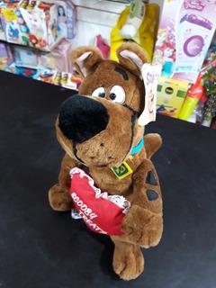 Peluche Scooby Doo Con Corazón Original Cartoon Network!!!