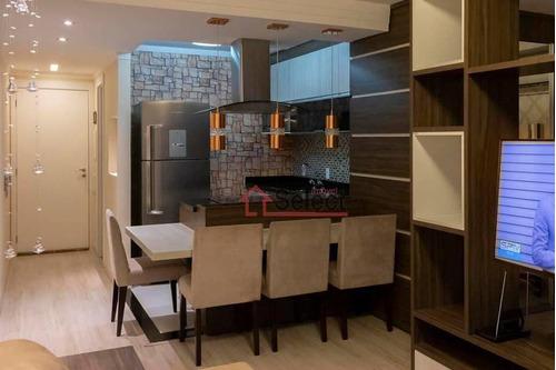 Studio Com 1 Dormitório À Venda, 50 M² Por R$ 455.000,00 - Mooca - São Paulo/sp - St0099