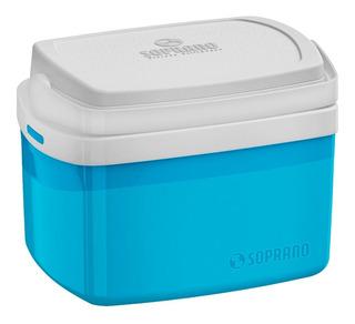 Caixa Térmica Soprano Tropical 5 Litros, Azul