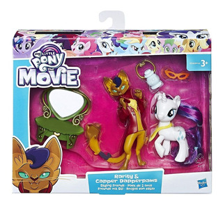 My Little Pony Rarity Y Capper Dapperpaws C/amigas Capital F