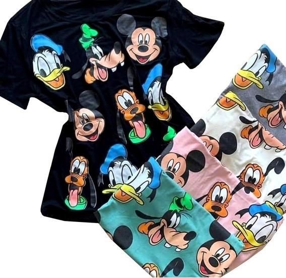 Blusa Camisa Camiseta T-shirt Feminina Estampada Personagens