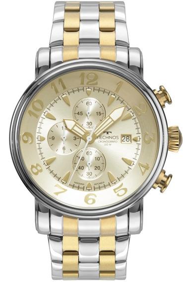 Relógio Technos Grandtech Masculino Bicolor Os10fh/1d
