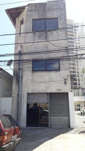 Prédio Para Alugar, 360 M² Por R$ 4.000/mês - Mooca - São Paulo/sp - Pr0068