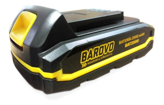 Combo Batería Compacta Ión De Litio 2 Ah + Cargador Barovo