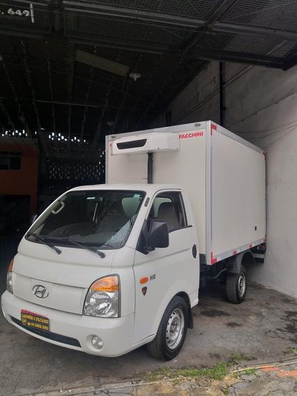 Hyundai Hr 2.5 / Bau Refrigerado Piso Canaletado Ano 12