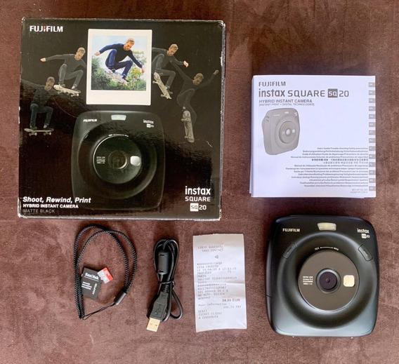 Câmera/impressora Fuji Instax Sq20 (tipo Polaroid) 3 X 3,5