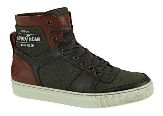Tenis Casual Tipo Bota Goodyear 2612 Hombre 830241