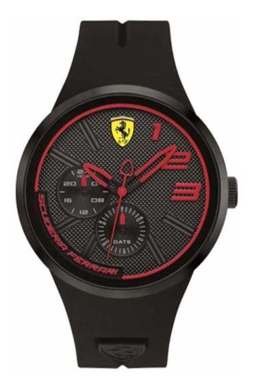 Relógio Scuderia Ferrari Black&red