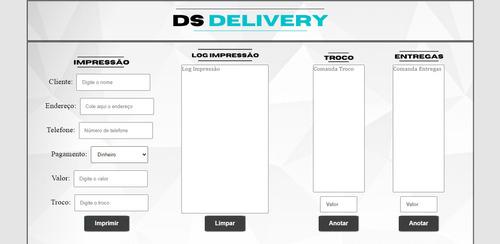 Imagem 1 de 9 de Sistema De Delivery