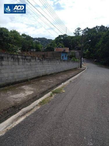 Terreno À Venda, 250 M² Por R$ 155.000,00 - Parque Residencial Scaffid Ii - Itaquaquecetuba/sp - Te0095