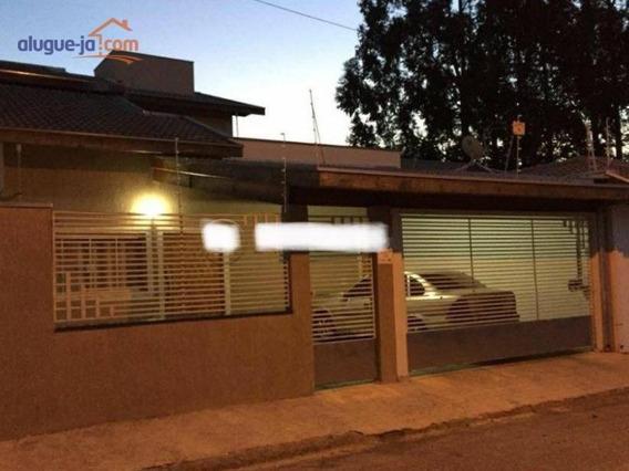 Casa Com 3 Dormitórios Para Alugar, 136 M² Por R$ 2.400/mês - Villa Branca - Jacareí/sp - Ca2086