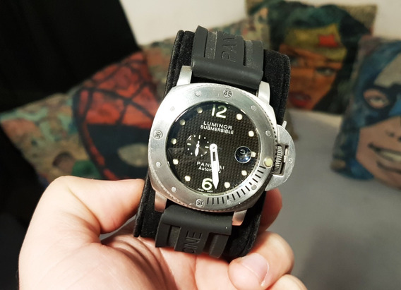 Relógio Modelo Panerai Luminor Submersible