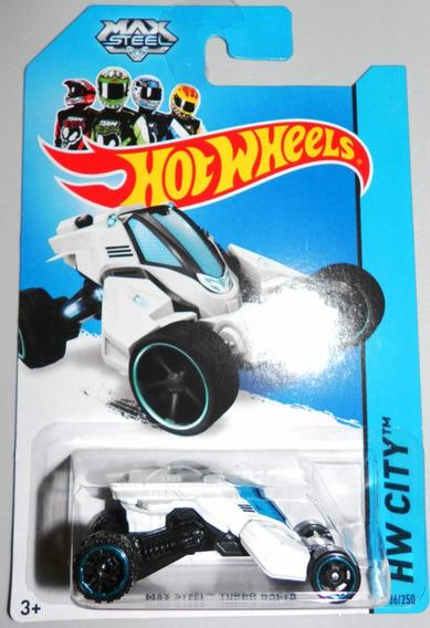Max Steel Turbo Racer, Hw City De Hotwheels 2014 86/250 Df