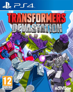 Transformers: Devastation Digital Ps4