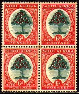 Col 10524 África Do Sul 89a + 91a Quadra Laranjeiras Nn