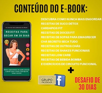 E-book Para Emagrecimento Em 30 Dias