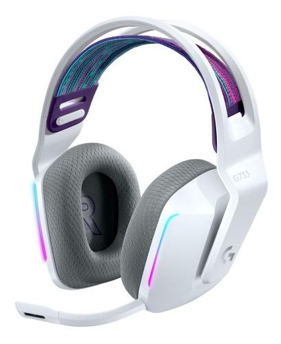 Auricular Logitech G733 White Rgb Inalambrico Gamer Wireless