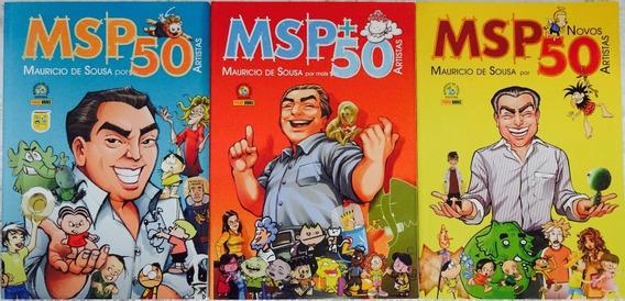 Lote Msp Mauricio De Souza Por 50 Artististas + Novos Mônica