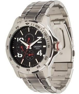 Relógio Orient Mbssm033 Masculino Original Visor Preto Sport