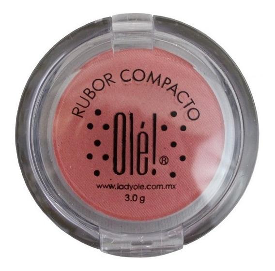 Rubor En Polvo Olé! Cosmetics Rosa Naranja
