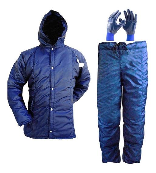 Conjunto Termico Para Camara Fria ( Japona Calça E Luva)