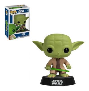 Figura Funko Pop Star Wars - Yoda Bobble 02