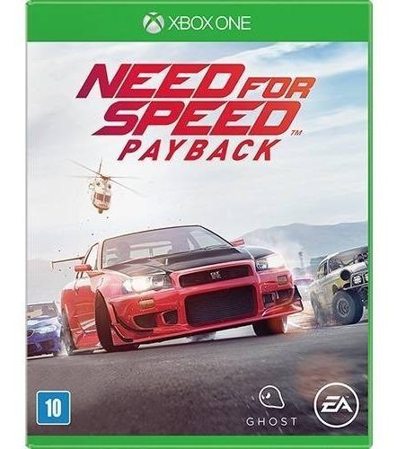 Jogo Need For Speed Payback Xbox One Mídia Física