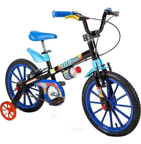 Imagem 1 de 3 de Bicicleta Infantil Nathor Tech Boys Aro 16