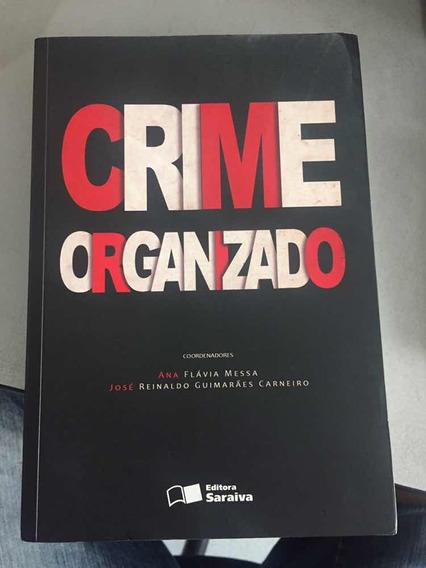 Livro Crime Organizado Ana Flávia Messa