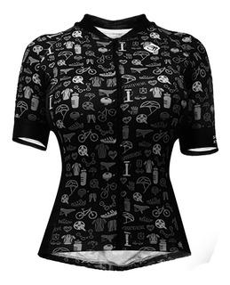 Camisa Fem .sport Xtreme Objetos Slim - Cores Preto