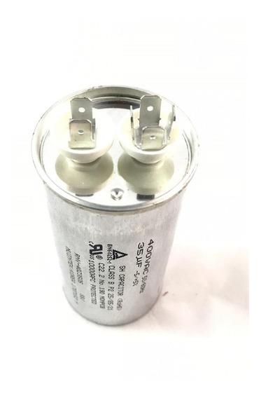 Capacitor Lg 35uf 400vac 50/60hz -5 +5% Original Novo