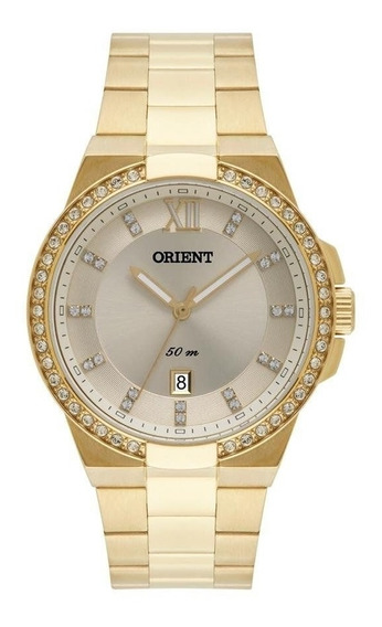 Relógio Feminino Orient Dourado Fgss1140c3kx