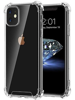 Funda Tpu Reforzada Antigolpe iPhone 11 Pro Max Transparente