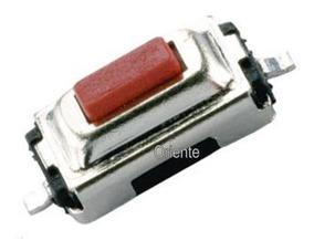Chave De Toque Smd 2 Pinos 3 X 6mm X 2.5mm (kit C/300 Peças)