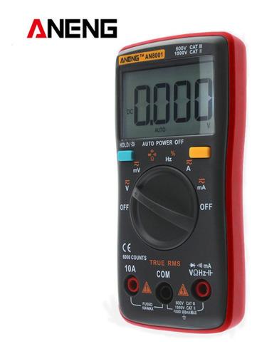 Aneng An8001 Verdadeiro Rms Multímetro Digital 6000 Contagen